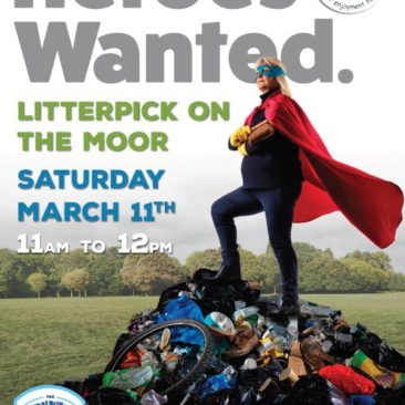Heroes Wanted for Litter Pick