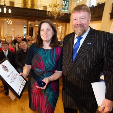 Civic Award for former Chair Debbie