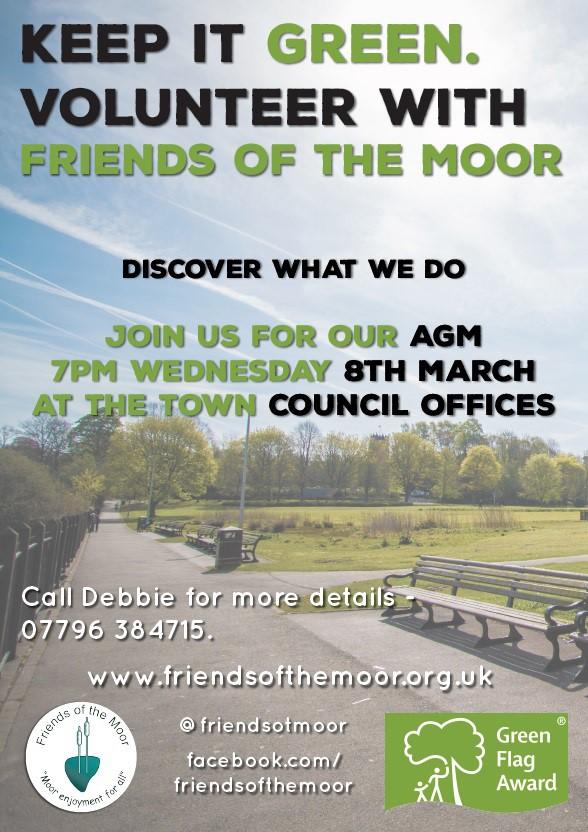 Help make the Moor even better