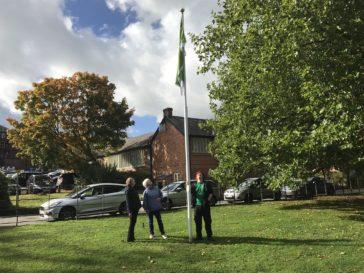 Green Flag Raised