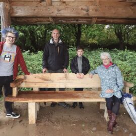 New Benches Installed in Shelter